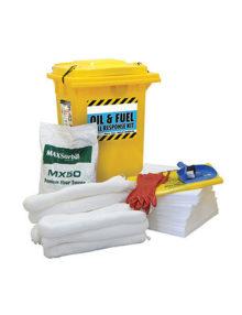 fuelgear spill kit premium 240l
