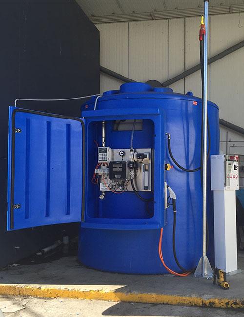 fuelgear bluequip bluemaster self bunded adblue tanks systems