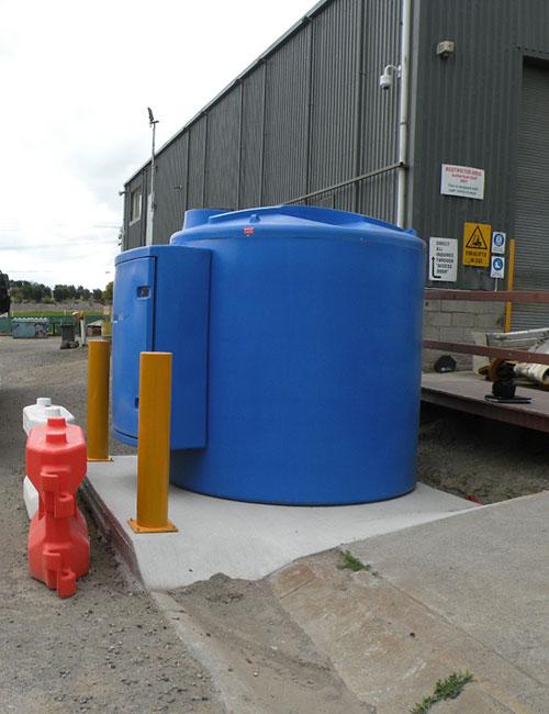fuelgear bluequip bluemaster self bunded adblue tank system