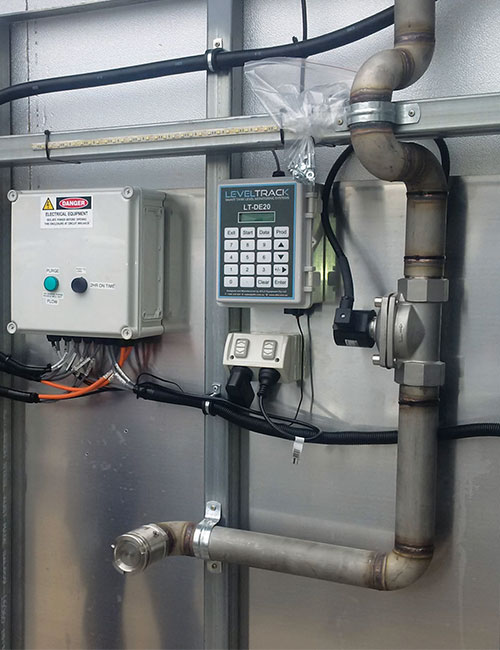 leveltrack smart web base tank monitoring system