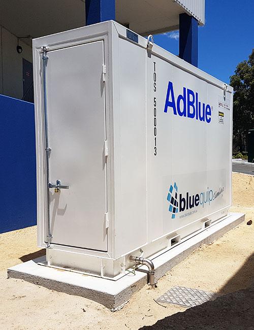 fuelgear bluequip slimline adblue tanks