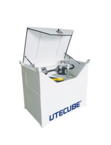 utecubes single skin self bunded cube diesel tanks