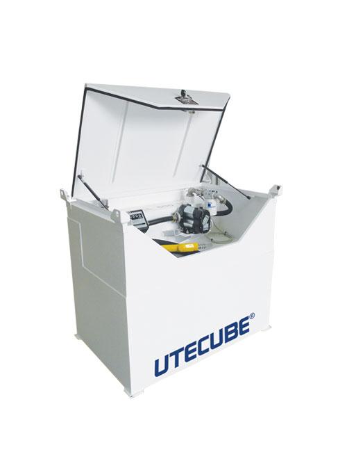 utecubes single skin self bunded cube diesel tanks