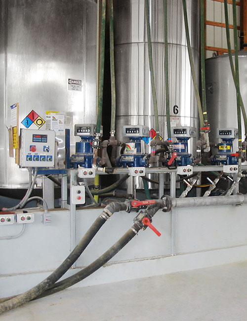 total control systems flow meter