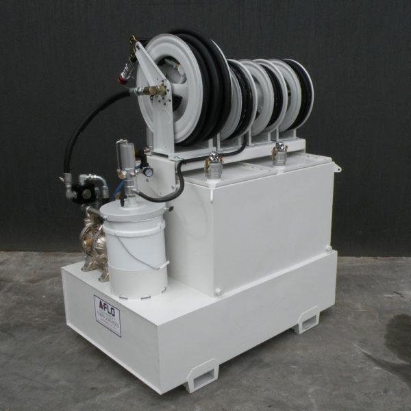 lubeskid on site oil service module system