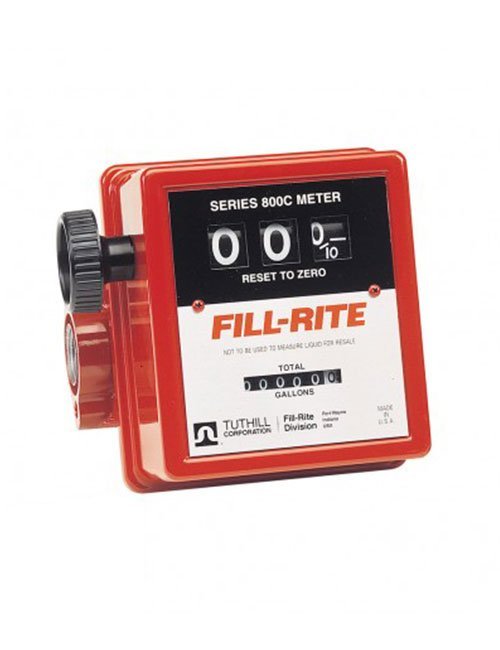 800 Series 1″ BSP (f) Meter without Strainer (19-76 LPM)