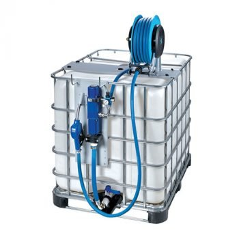 Bluequip Air Operated IBC Kit With Hose Reel