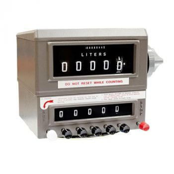 5 Digit V/R Mechanical Register Head 1/1