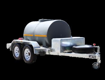 FUELTRANS Single Skin Diesel Fuel Trailer