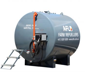 Heavy Duty Farm Refueller Single Skin Diesel Fuel Tanks