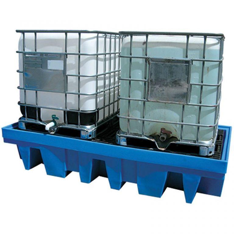ULTRAFLO 1000L IBC Spill Containment Pallets