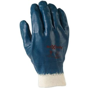 Safety Cuff Blue Nitrile Fully Dipped