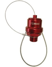 "Flomax Series 3/4"" Connectors Red"