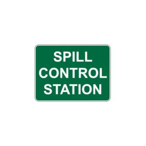 Control Station Signs
